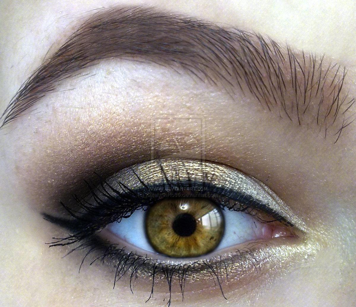 Светло-зелено-карие глаза картинка