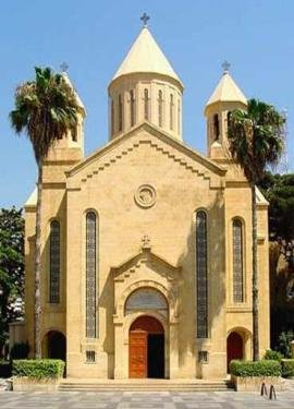 армянская церковь в ливане