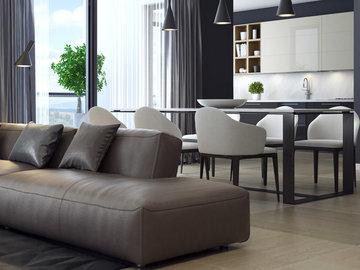 Идеи зонирования пространства квартиры и дома — в Яндекс.Коллекциях. Смотрите фотографии гостиных и спальных комнат с декоративным зонированием