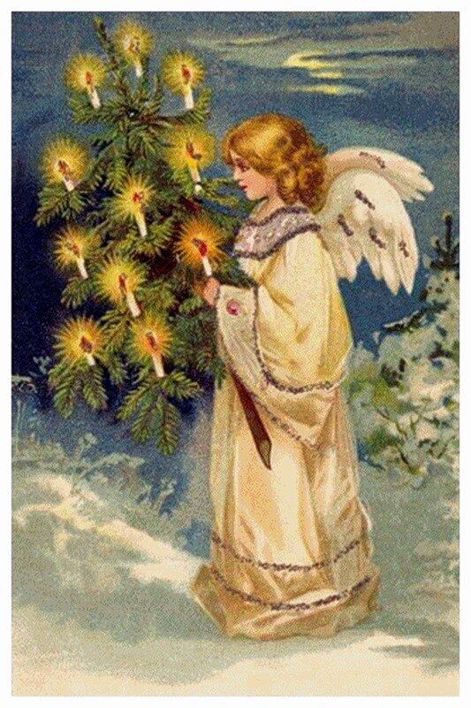 Картинка, православные открытки ангелы