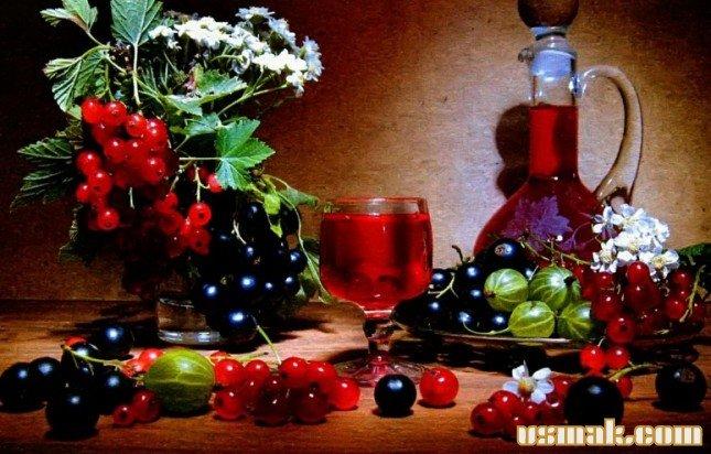 Как сделать наливку из ягод