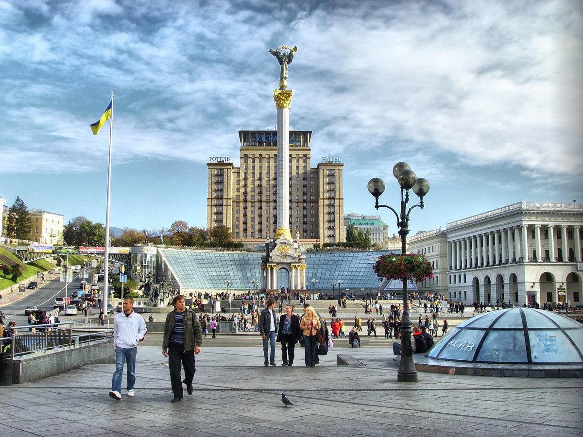 Киев в картинках, добрым утром