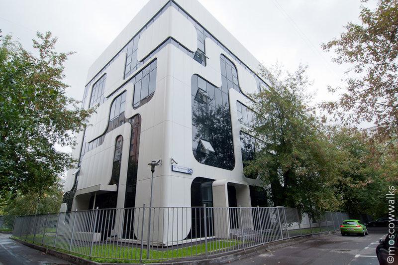 АТС - офисное здание в стиле Nokia
