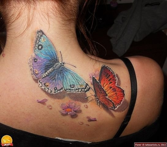 Каша-МаLaШа: Очень красивые женские татуировки