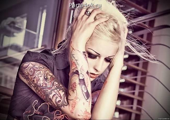 Красивые девушки с татуировками – в чем притягательность женских тату - Статьи о татуировке, интересные факты - Tатуировка - Статьи о татуировке и пирсинге, полезная информация - Татуировки - фото, новости, статьи, эскизы тату