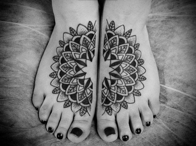 Тату для девушек на ноге. Женские татуировки на ногах