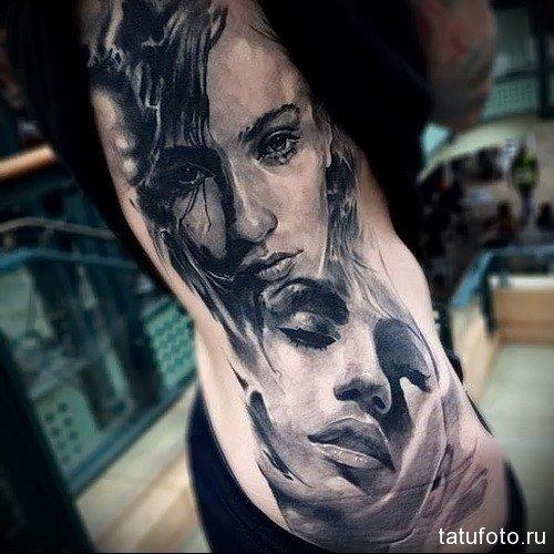 Татуировки на боку женские - фотографии