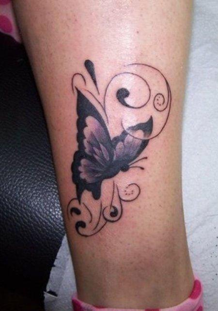 Татуировки на ноге – 50 фото. Мужские и женские эскизы и значение.