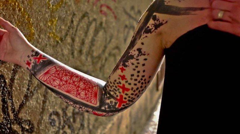 Татуировки на руке, мужские и женские тату на руке, фото
