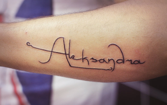 Татуировки надписи - фото тату для девушек и мужчин, значения и перевод