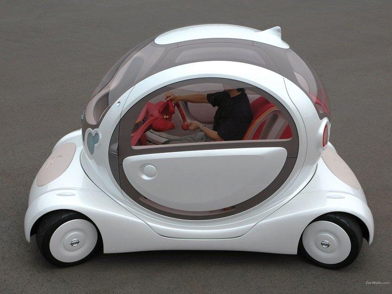 Nissan Pivo концепт.