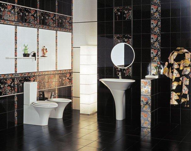 Практические советы при выборе рисунка плитки для ванной комнаты Многие производители предоставляют невероятно большой ассортимент плитки для ванной комнаты,