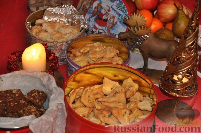 Рождественская и новогодняя выпечка