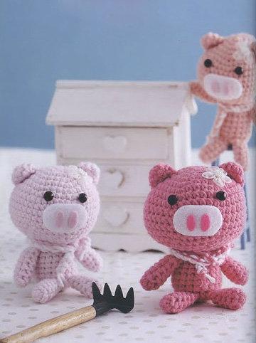 180 идей вязаных игрушек с описанием. Часть 1