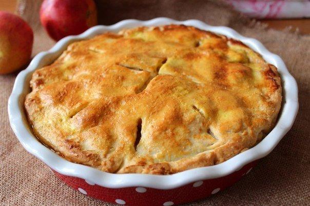 Американский яблочный пирог | Кулинарные Рецепты