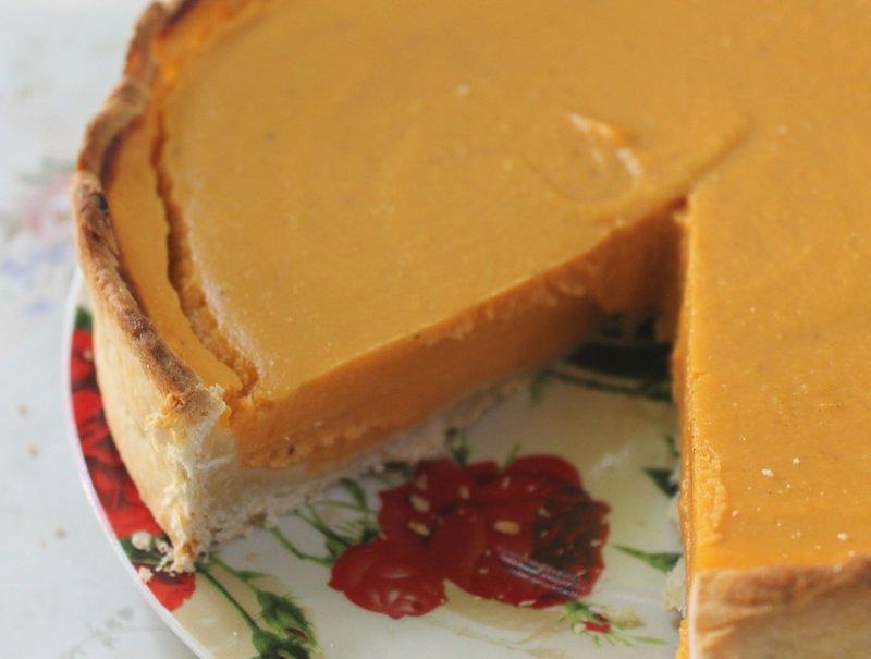 Американский тыквенный пирог или как согреться осенью… | Мемуары о еде