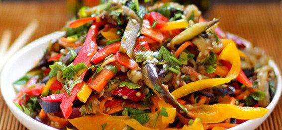 Баклажаны по-китайски фото готового блюда