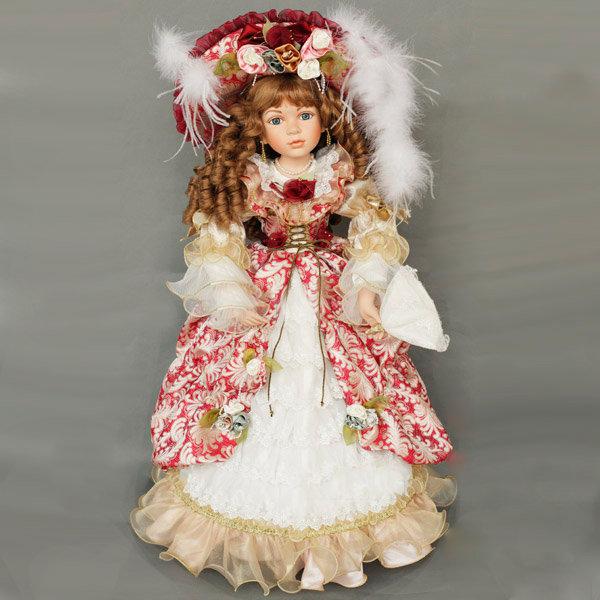 большая фарфоровая кукла