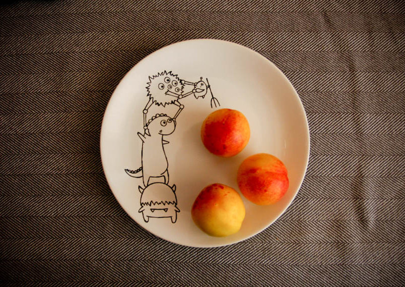 декорируем посуду своими руками