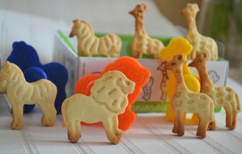 Детское фигурное печенье | Наши рецепты