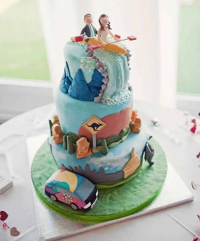Дизайн свадебного торта