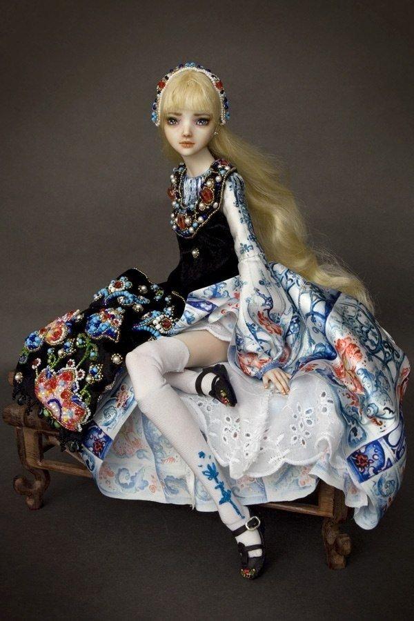Фарфоровые куклы для взрослых (53 фото)