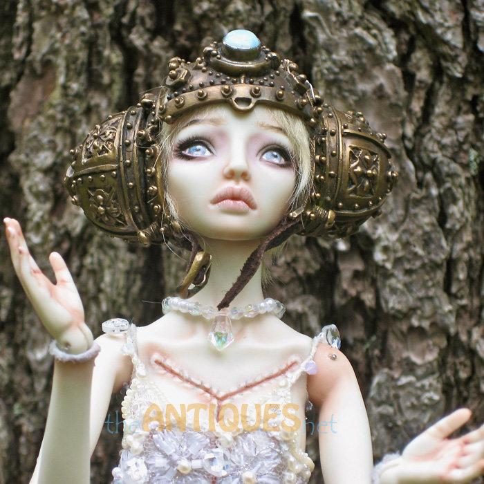 Фарфоровые куклы Марины Бычковой | theantiquesnet - продажа арт-объектов, art objects sale