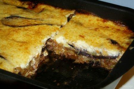 Холодный салат Мусакас в духовке