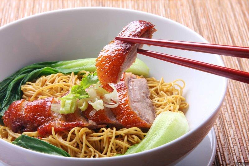 Китайская еда Лапша