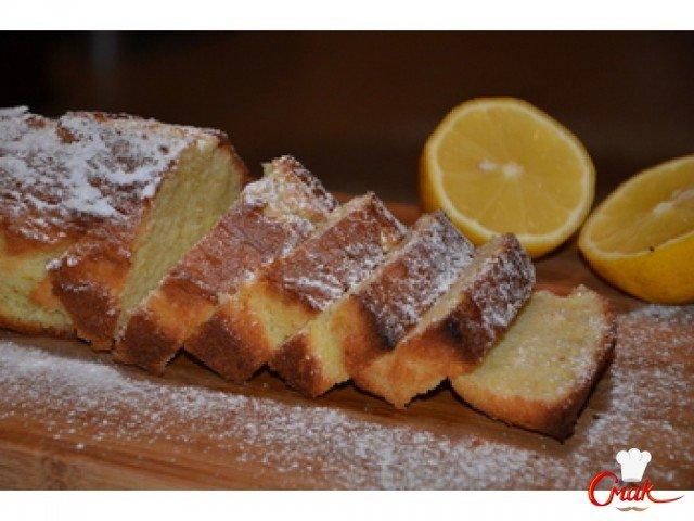 Классический лимонный кекс. - рецепт на СмаК.ру