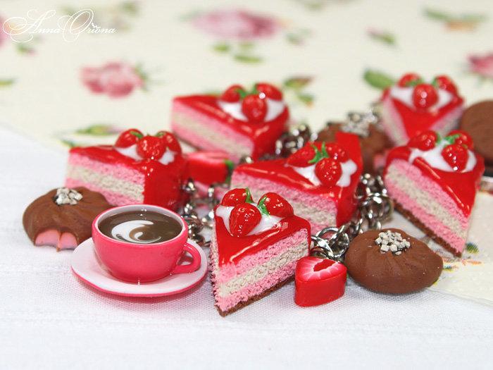 Клубника и шоколадные конфеты