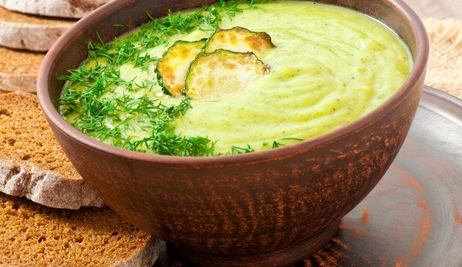 Крем-суп из кабачков