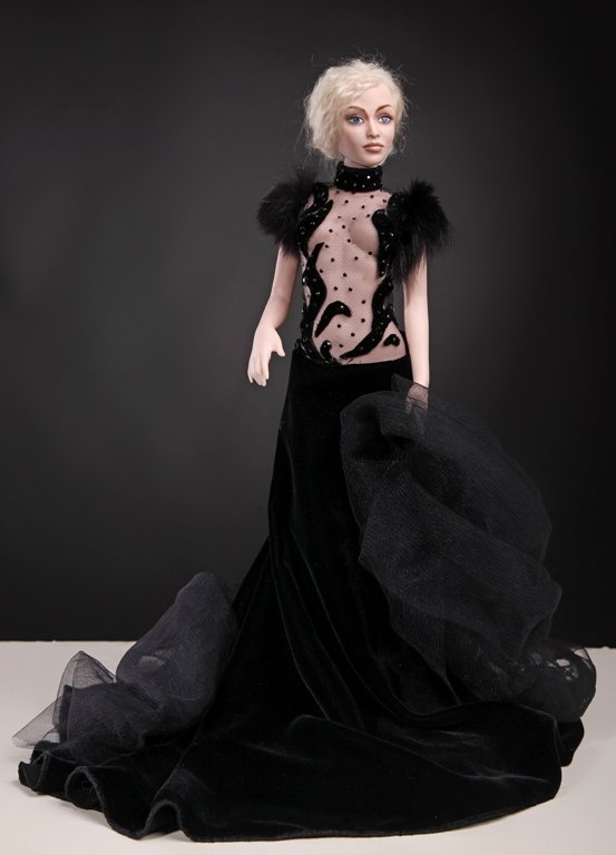 Купить Кукла Стелла, авторская кукла, коллекционная кукла, эксклюзивный подарок, ручная работа, фарфор