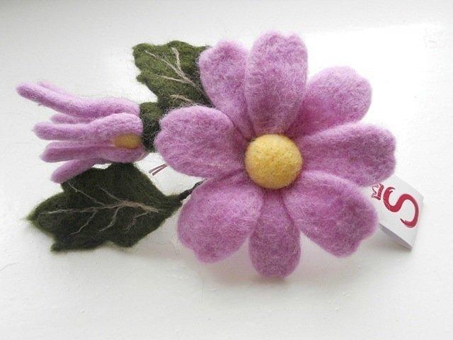 Купить цветы из шерсти мастера Светлана Еременко - Magic Wool