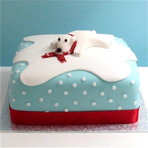 Like for - новогодний торт с мастикой - likeforyou