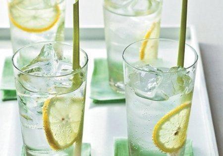 Лимонад из имбиря и лемонграсса