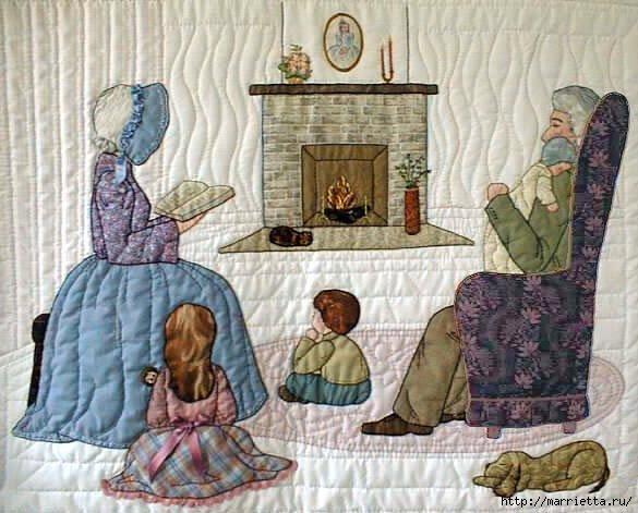Лоскутное шитье и аппликация. Журнал Bonnet Girls (20)