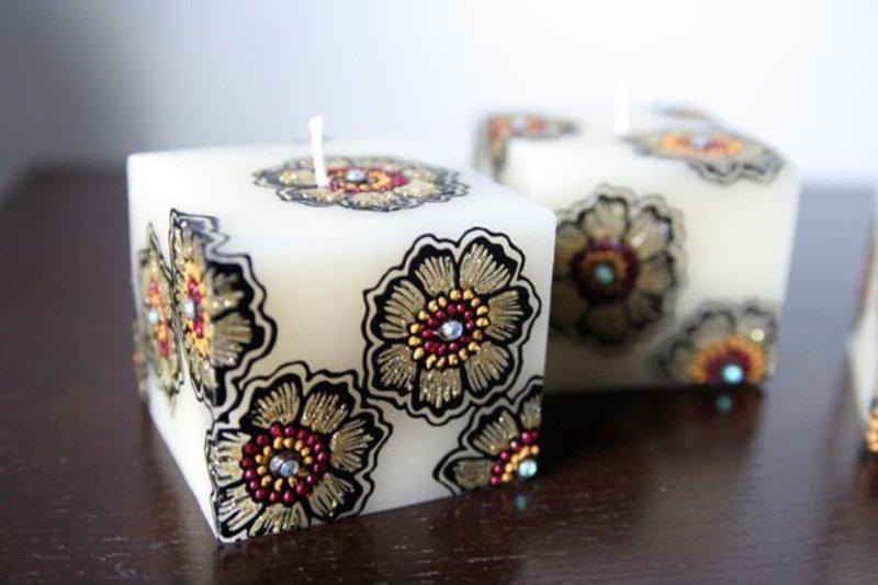 Мастер-класс по росписи свечей Москва 2015