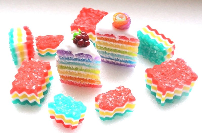 Миниатюра и  творчество :): Тортики полимерная глина.