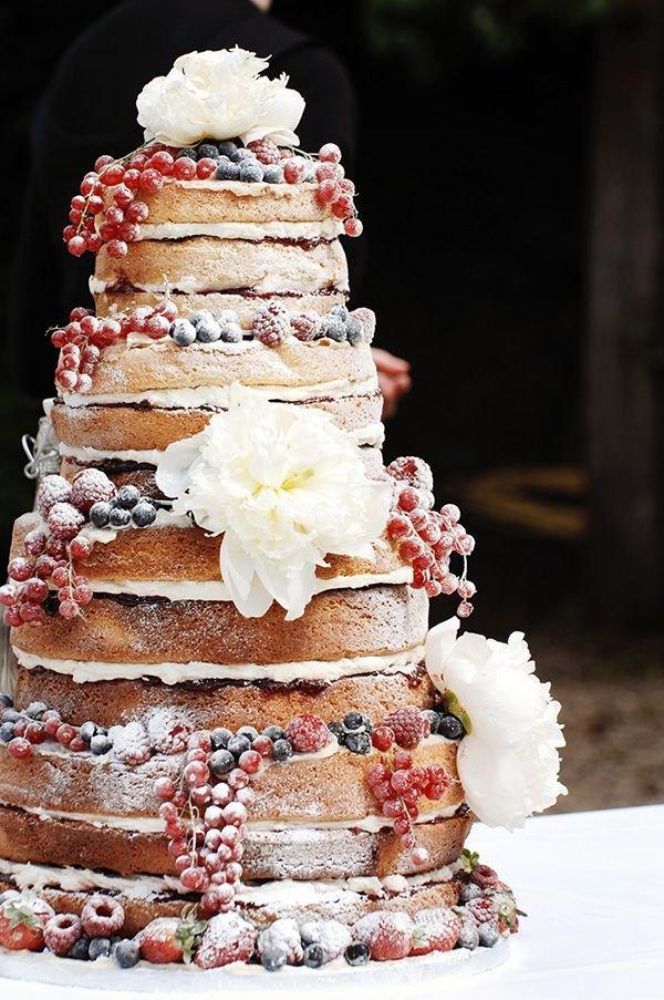 naked wedding cakes 11