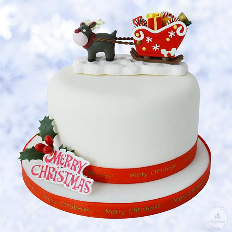Новогодние торты в Москве на заказ без предоплаты