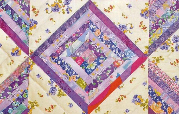 одеяло в технике пэчвор
