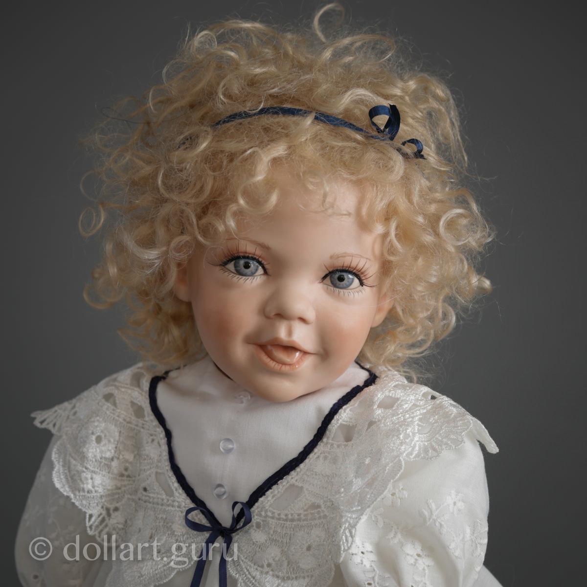 Peanut. Фарфоровая кукла Линды Стил