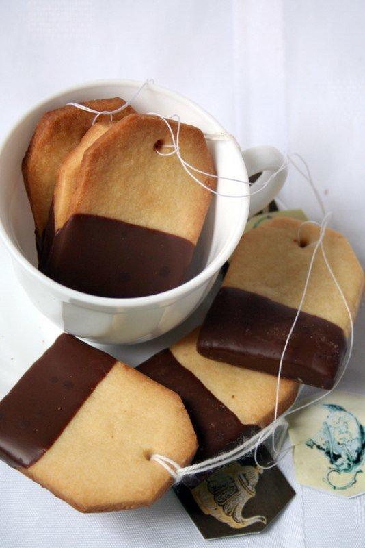 песочное печенье к чаю.