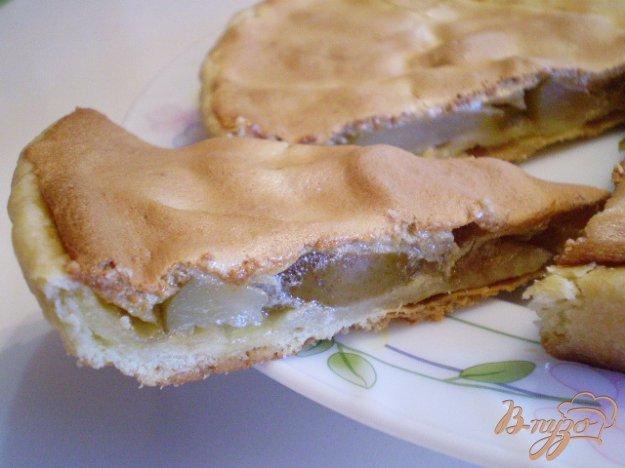 Песочный пирог с грушами - пошаговый рецепт с фото