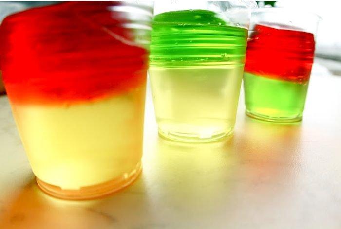 Приготовление алкогольного желе (4 фото)