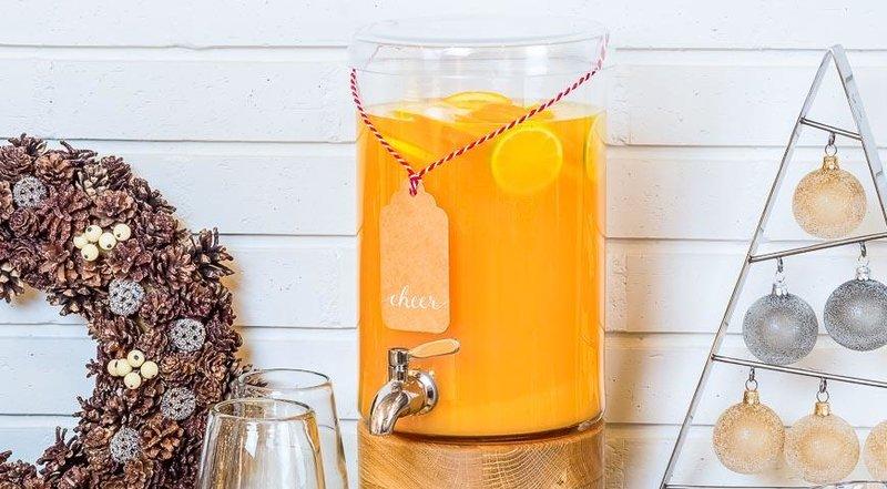 Пунш с апельсинам, лаймом, лимоном и специями