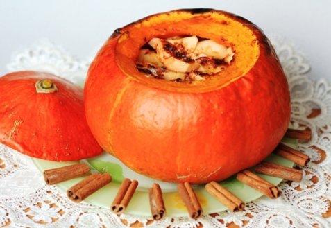 Рецепты тыквы яблок фото