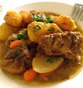 Рецепт картошки с бараниной - традиционное ирландское рагу