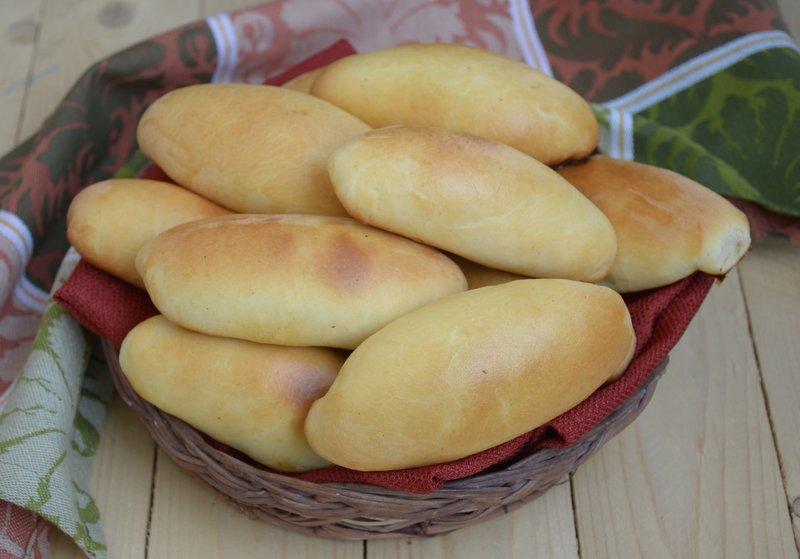 Русские Пирожки с капустой и яйцом